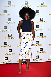 Clara Amfo attending the BBC Music Awards at the Royal Victoria Dock, London. PRESS ASSOCIATION Photo. Picture date: Monday 12th December, 2016. See PA Story SHOWBIZ Music. Photo credit should read: Ian West/PA Wire