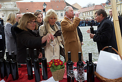 15.03.2016, Osijek, CRO, der Britische Kronprinz Charles und seine Frau Camilla besuchen Kroatien, im Bild British Crown Prince Charles and his wife Camilla, the Duchess of Cornwall, will visit Osijek. Osijek is the largest city in Slavonia, a region of eastern Croatia, which was on the front line of the war between Croatia and the Yugoslav Army between 1991 and 1995. EXPA Pictures © 2016, PhotoCredit: EXPA/ Pixsell/ Vlado Kos/CroPix/POOL<br /> <br /> *****ATTENTION - for AUT, SLO, SUI, SWE, ITA, FRA only*****