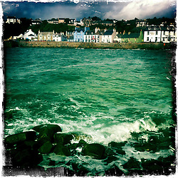 Portpatrick..Hipstamatic images taken on an Apple iPhone..©Michael Schofield.