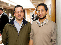 Dr. Vikrant Parihar sligo and Dr. Zaid Heetun St Vincents at the Clinical Science Building UCHG. Photo:Andrew Downes