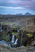 Sigoldugljufur is a canion near the Sigalda powerplant in the Icelandic highlands.