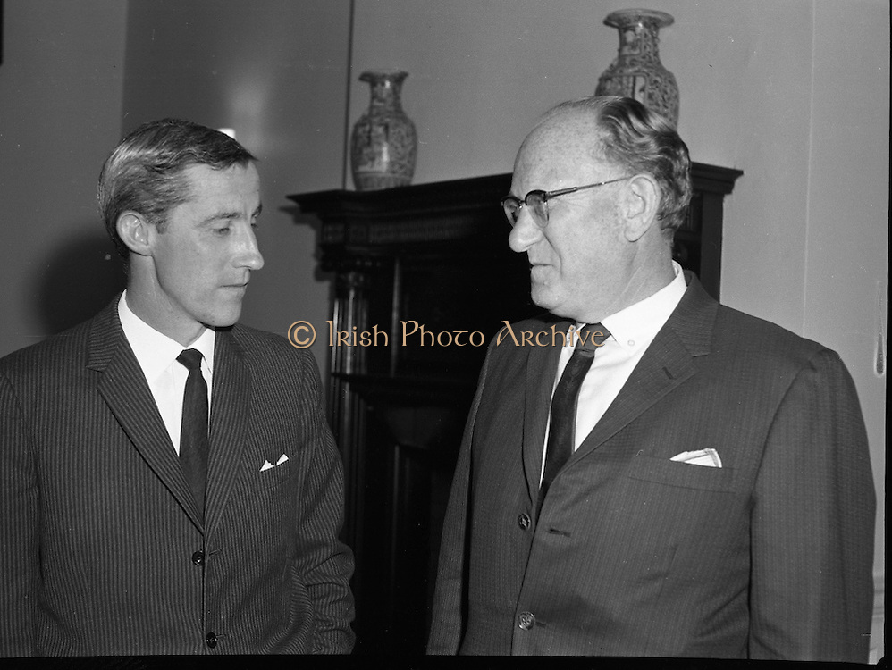 "Dr. Dichter Lecture at the Shelbourne Hotel..1961..02.10.1961..10.02.1961..2nd October 1961..Ernest Dichter is an Austrian-American psychologist and marketing expert known as the ""father of motivational research. He was invited by P Owen Ltd to give a lecture on his methods at the Shelbourne Hotel, Dublin."