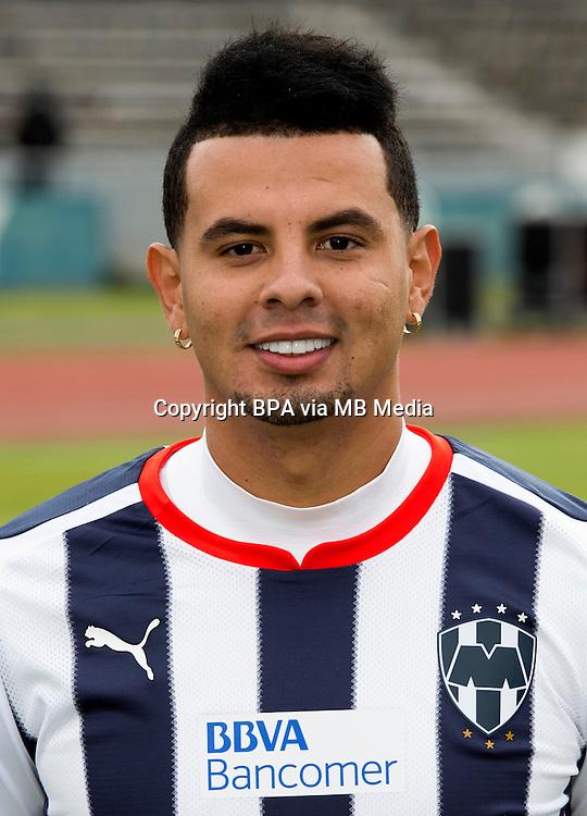 Mexico League - BBVA Bancomer MX 2014-2015 -<br /> Rayados - Club de Futbol Monterrey / Mexico - <br /> Edwin Cardona