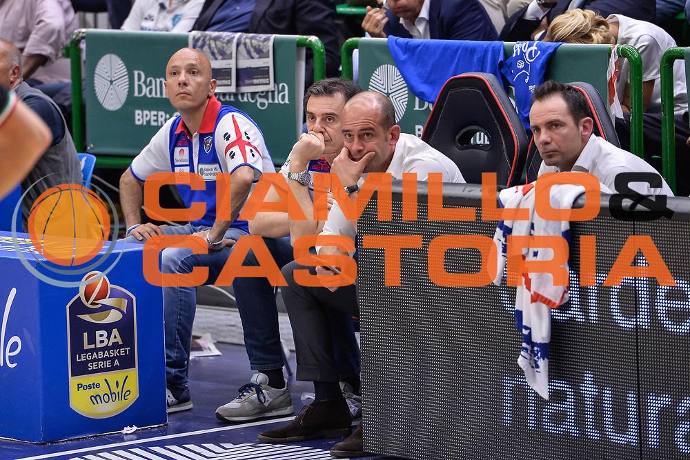 Giacomo Baioni<br /> Banco di Sardegna Dinamo Sassari - Dolomiti Energia Aquila Basket Trento<br /> Legabasket Serie A LBA Poste Mobile 2016/2017<br /> Playoff Quarti Gara3<br /> Sassari 16/05/2017<br /> Foto Ciamillo-Castoria