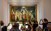 FLORENCE: Primavera Of Bottocelli at Galleria degli Uffizi