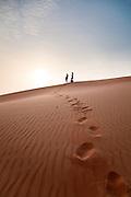 Liwa desert in Abu Dhabi