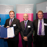 Images from the 2014 GTSC Probabtion Event Pictured are Jackie Brock (Chief Executive of Children First), Paul Grant (East Lothian),,Ken Muir (Chief Executive GTCS) and Derek Thompson (Convener GTCS). Thursday 12th June 2014.