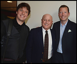 Joshua Bell, Grammy Award winning violinist,Ronald O.Perelman, Nat Rothschild  attend the National Youth Orchestra of The United States of America Reception at the <br /> The Royal Albert Hall hosted by Ronald O.Perelman, London, United Kingdom,<br /> Sunday, 21st July 2013<br /> Picture by Andrew Parsons / i-Images