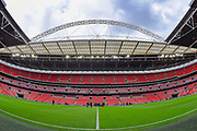 General stadium view ahead of the SSE Women's FA Cup Final match between BIrmingham City Ladies FC and Manchester City Women at Wembley Stadium, London, United Kingdom on 13 May 2017. Photo by Martin Cole.