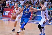 DESCRIZIONE : Mosca Moscow Qualificazione Eurobasket 2015 Qualifying Round Eurobasket 2015 Russia Italia Russia Italy<br /> GIOCATORE : Alessandro Gentile<br /> CATEGORIA : Palleggio Penetrazione Sequenza<br /> EVENTO : Mosca Moscow Qualificazione Eurobasket 2015 Qualifying Round Eurobasket 2015 Russia Italia Russia Italy<br /> GARA : Russia Italia Russia Italy<br /> DATA : 13/08/2014<br /> SPORT : Pallacanestro<br /> AUTORE : Agenzia Ciamillo-Castoria/GiulioCiamillo<br /> Galleria: Fip Nazionali 2014<br /> Fotonotizia: Mosca Moscow Qualificazione Eurobasket 2015 Qualifying Round Eurobasket 2015 Russia Italia Russia Italy<br /> Predefinita :