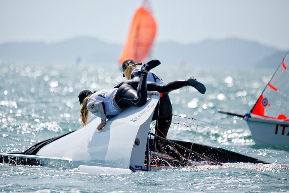 Day1, 2015 Youth Sailing World Championships,<br />