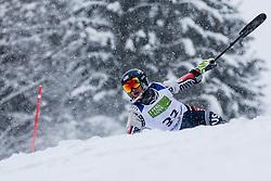 Haraghey Andrew of USA during Slalom race at 2019 World Para Alpine Skiing Championship, on January 23, 2019 in Kranjska Gora, Slovenia. Photo by Matic Ritonja / Sportida
