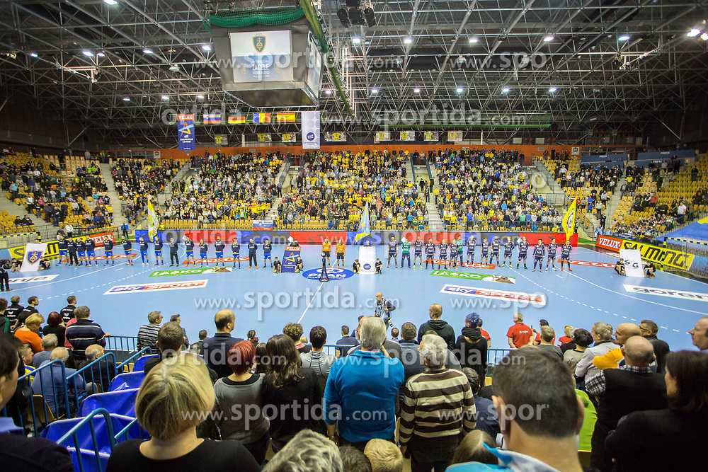 Dvorana Zlatorog during handball match between RK Celje Pivovarna Lasko and SG Flensburg Handewitt in VELUX EHF Champions League, on November 26, 2017 in Dvorana Zlatorog, Celje Slovenia. Photo by Ziga Zupan / Sportida