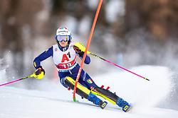 12.01.2020, Keelberloch Rennstrecke, Altenmark, AUT, FIS Weltcup Ski Alpin, Alpine Kombination, Slalom, Damen, im Bild Marta Bassino (ITA, 3. Platz) // third placed Marta Bassino of Italy during the women's Alpine combined Slalom competition for the FIS ski alpine world cup at the Keelberloch Rennstrecke in Altenmark, Austria on 2020/01/12. EXPA Pictures © 2020, PhotoCredit: EXPA/ Johann Groder