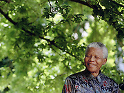 ( Nelson Mandela speaks during an address to the media in Somerset West, 1996 )<br /> <br /> Photograph &copy; nic bothma