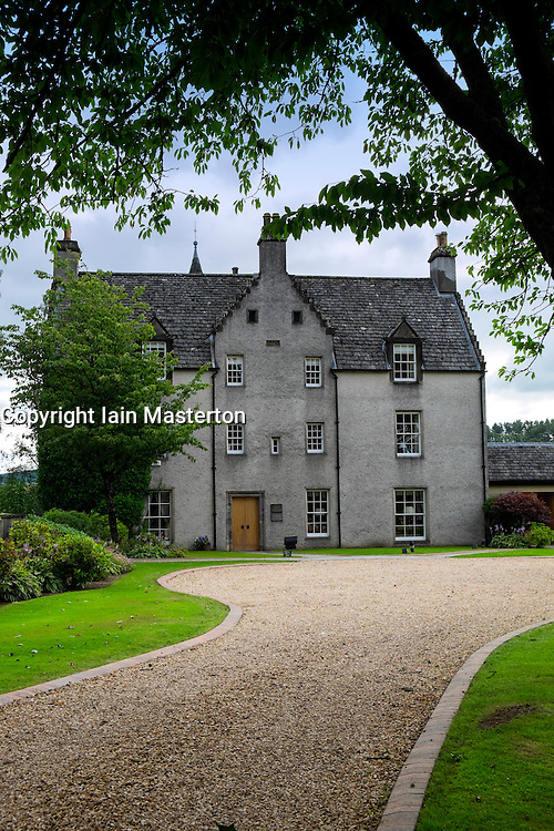 Famous Easter Elchies House in grounds of Macallan whisky distillery in CRAIGHELLACHIE Scotland United Kingdom