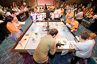 Scene from the  FIRST LEGO League 2012 competition sponsored by SAP in the Radisson blu hotel in Galway. Photo:Andrew Downes.
