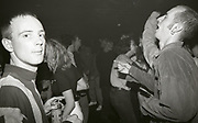 Clubbers at The Boardwalk in Manchester, October 1991.