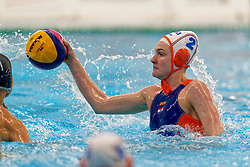 Maud Megens #2 of Netherlands in action during the friendly match Netherlands vs USA on February 19, 2020 in Amerena Amersfoort.