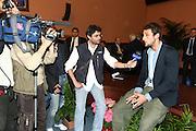 ROMA 12 MAGGIO 2010<br /> BASKET FIP<br /> CONFERENZA STAMPA BELINELLI E CUZZOLIN<br /> NELLA FOTO BELINELLI<br /> FOTO CIAMILLO