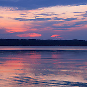 &quot;Last Light of Day&quot;<br /> <br /> Last colors and light of sunset over water!!<br /> <br /> Sunset Images by Rachel Cohen
