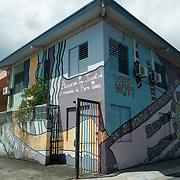 AUGUST 27, 2018--CATA&ntilde;O---PUERTO RICO--<br /> The APJ (Association Pro Juventud y Comunidad de Barrio Palmas) building in Cata&ntilde;o, Puerto Rico. The APJ is is credited with helping youth and their families <br /> (Photo by Angel Valentin/Freelance)