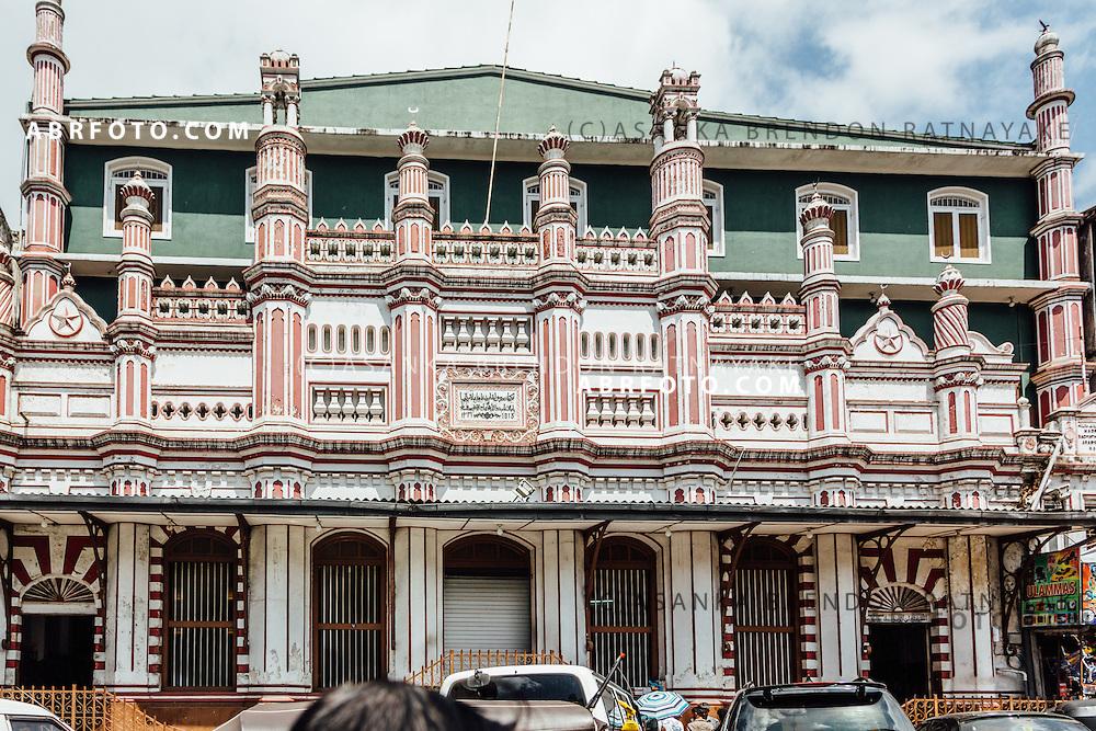 Jamiul Aalam Hanafi Jumma Masjid (Jami-Ul-A'lam Hanafi Jummah mosque) Kandy, Sri Lanka. Kandy is the second largest city in the country and was the last ancient capital of the Sri Lankan Kingdom.
