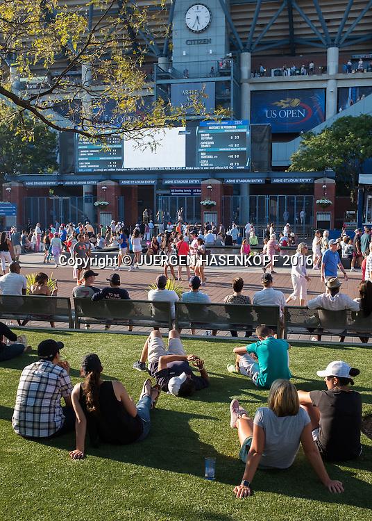 US Open 2016 Feature<br /> <br /> Tennis - US Open 2016 - Grand Slam ITF / ATP / WTA -  USTA Billie Jean King National Tennis Center - New York - New York - USA  - 4 September 2016.