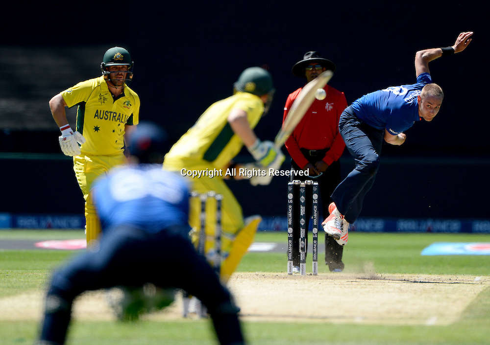 Stuart Broad (ENG)<br /> Australia vs England / Match 2<br /> 2015 ICC Cricket World Cup / Pool A<br /> MCG / Melbourne Cricket Ground <br /> Melbourne Victoria Australia<br /> Saturday 14 February 2015<br /> &copy; Sport the library / Jeff Crow