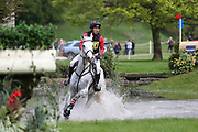 Will Van Ufford (NED) riding Hellios BH during the International Horse Trials at Chatsworth, Bakewell, United Kingdom on 12 May 2018. Picture by George Franks.