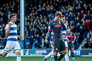 Leeds United forward Patrick Bamford (9) misses the penalty kick during the EFL Sky Bet Championship match between Queens Park Rangers and Leeds United at the Kiyan Prince Foundation Stadium, London, England on 18 January 2020.