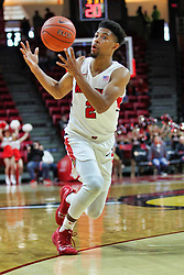 NORMAL, IL - December 16: Zach Copeland during a college basketball game between the ISU Redbirds and the Cleveland State Vikings on December 16 2018 at Redbird Arena in Normal, IL. (Photo by Alan Look)