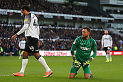 Ben Hamer during the EFL Sky Bet Championship match between Derby County and Hull City at the Pride Park, Derby, England on 18 January 2020.