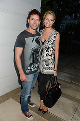 JAMES BLUNT and SOFIA WELLESLEY at an Evening with Notting Hill Guitars held at 167 Westbourne Grove, London W11 on 4th September 2013.