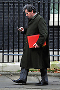 © Licensed to London News Pictures. 12/12/2011, London, UK.  Oliver Letwin on Downing Street today, Monday 12th December 2011. Photo credit : Stephen Simpson/LNP