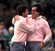 890927/THE BELFY, SUTTON COLDFIELD, UK./Photo mark Newcombe/RYDER CUP'89 <br />