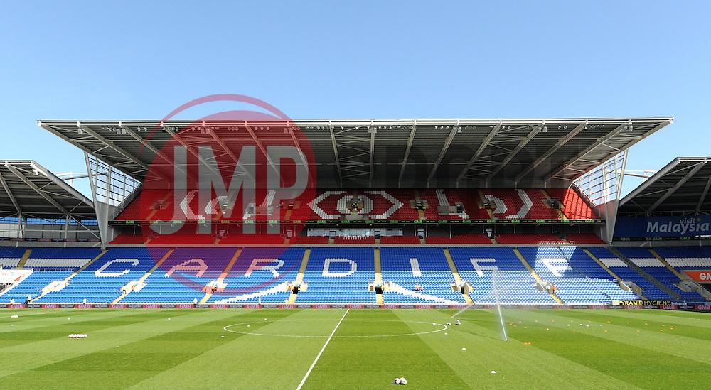 Cardiff City Stadium - Photo mandatory by-line: Paul Knight/JMP - Mobile: 07966 386802 - 06/04/2015 - SPORT - Football - Cardiff - Cardiff City Stadium - Cardiff City v Bolton Wanderers - Sky Bet Championship