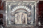 Herculaneum. House of Neptune and Amphitrite mosaic, c69 AD. Nymphaeum mosaic.