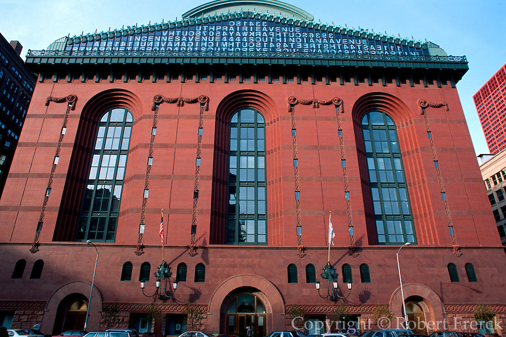 CHICAGO, ARCHITECTURE the Harold Washington Library
