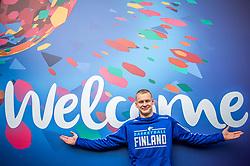 Sasu Salin of Finnish National Basketball team ahead of the FIBA EuroBasket 2017 in Crowne Plaza Hotel, Helsinki, Finland on August 30, 2017. Photo by Vid Ponikvar / Sportida