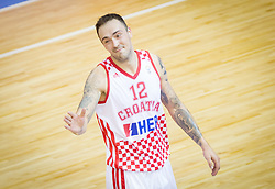 Damir Markota #12 of Croatia during basketball match between National teams of Croatia and Poland in Round 1 at Day 4 of Eurobasket 2013 on September 7, 2013 in Arena Zlatorog, Celje, Slovenia. (Photo by Vid Ponikvar / Sportida.com)