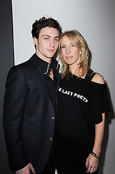 SAM TAYLOR-WOOD and AARON JOHNSON at a party to celebrate Lancome's 10th anniversary of sponsorship of the BAFTA's in association with Harper's Bazaar magazine held at St.Martin's Lane Hotel, London on 19th February 2010.