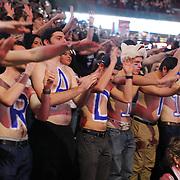 STORRS, CONNECTICUT- NOVEMBER 17: UConn fans before the UConn Huskies Vs Baylor Bears NCAA Women's Basketball game at Gampel Pavilion, on November 17th, 2016 in Storrs, Connecticut. (Photo by Tim Clayton/Corbis via Getty Images)