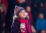 02/12/2012. Winterval. Add To Story by Eimear Ni Bhraonain. Pictured at Winterval at Waterford City at the light show is Mia Boland from Dublin. Picture: Patrick Browne