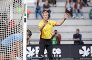 EINDHOVEN - Oranje Rood - Nijmegen.<br /> Hoofdklasse dames<br /> Foto: Ferdy Walvoort scheidsrechter.<br /> WORLDSPORTPICS COPYRIGHT FRANK UIJLENBROEK