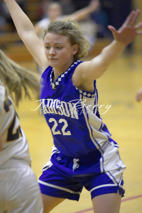 Varsity Girls Basketball..vs Rappahannock..January 28, 2005