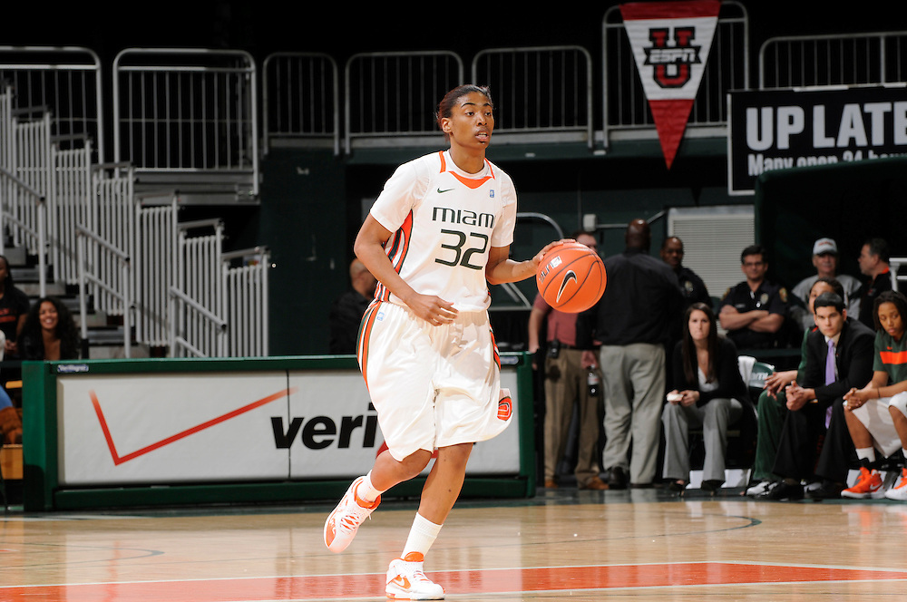 2012 Miami Hurricanes Women's Basketball vs North Carolina State