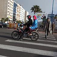 Street life Casablanca , Morocco