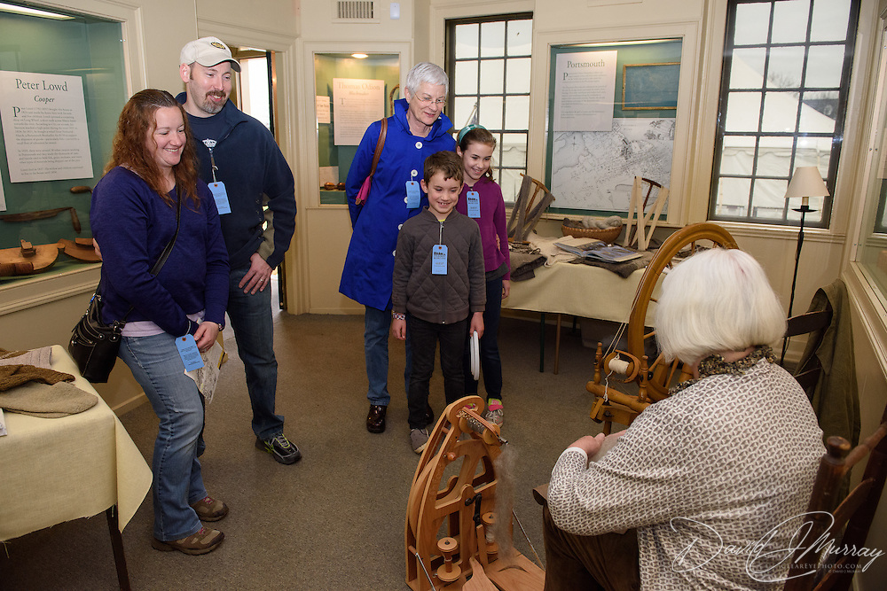 Taken at the opening of the Baby Animals at Strawbery Banke! exhibit on April 23, 2016
