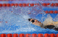 Peter Mankoc of Slovenia swims to win the men's 100m medley final race (9th times European Champion) and setting the European record with time 51.97 during day 4 of LEN European Short Course Swimming Championships Rijeka 2008, on December 14, 2008,  in Kantrida pool, Rijeka, Croatia. (Photo by Vid Ponikvar / Sportida)